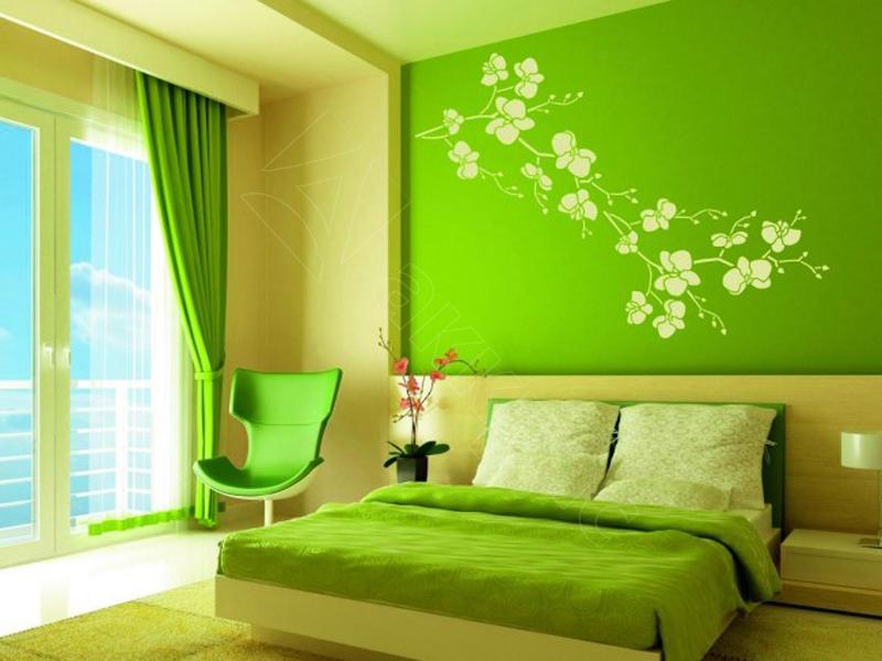 Как красиво покрасить стены 165