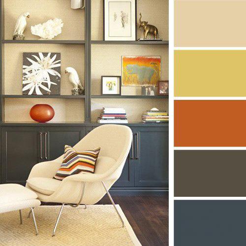 Как подобрать цвета для интерьера квартиры